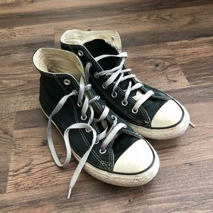 Other - Black high top converse